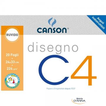 ALBUM DISEGNO CANSON C4SUPER 200GR 24X33