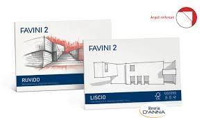 ALBUM DISEGNO FAVINI LISCIO SQUADRATO 33X48 110GR 10 FOGLI